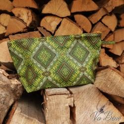 Trousse Vert Ethnique